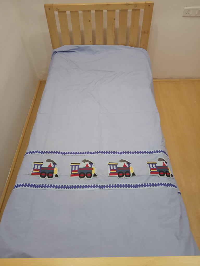 Choo Choo train- Single Bed Sheet