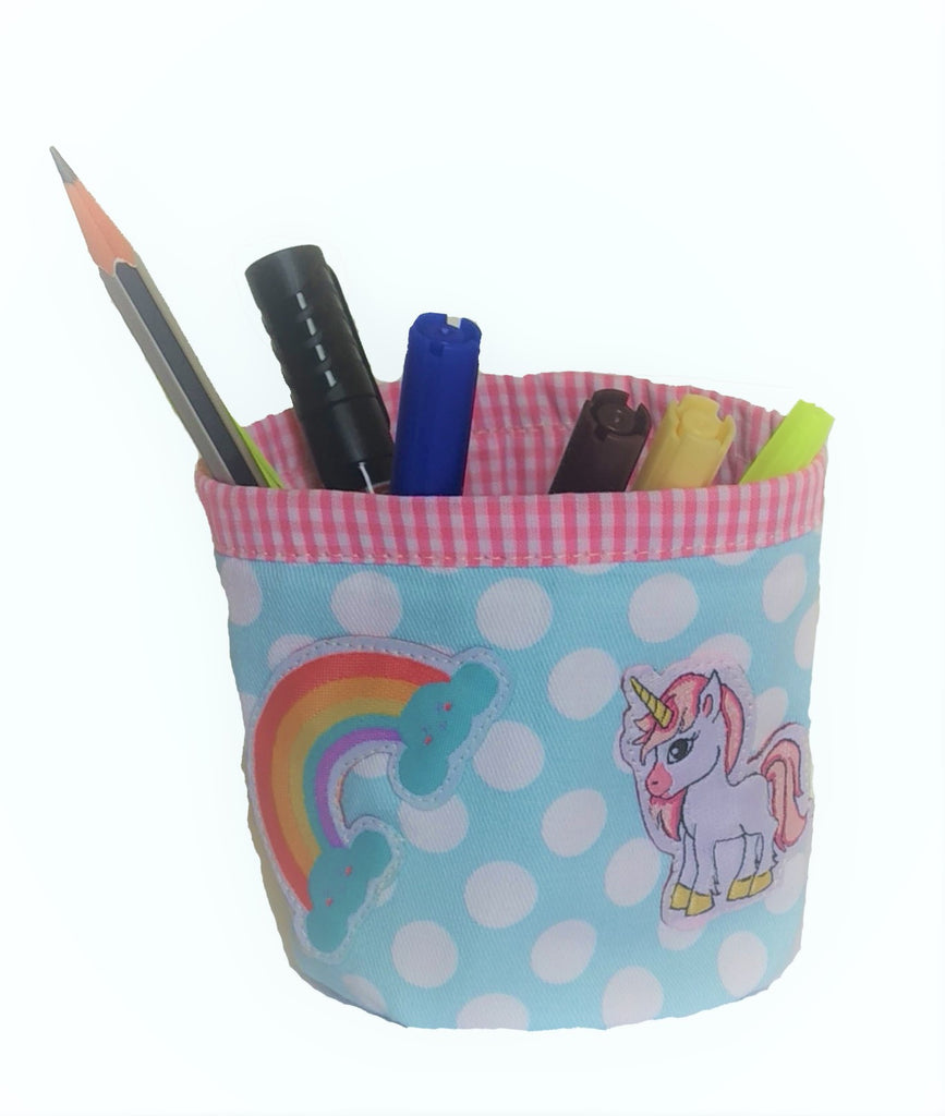 Pink Unicorn - Pencil Holder