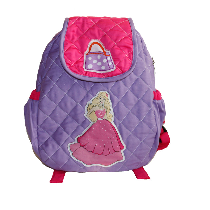 Little Fashionista Quilted School Bag