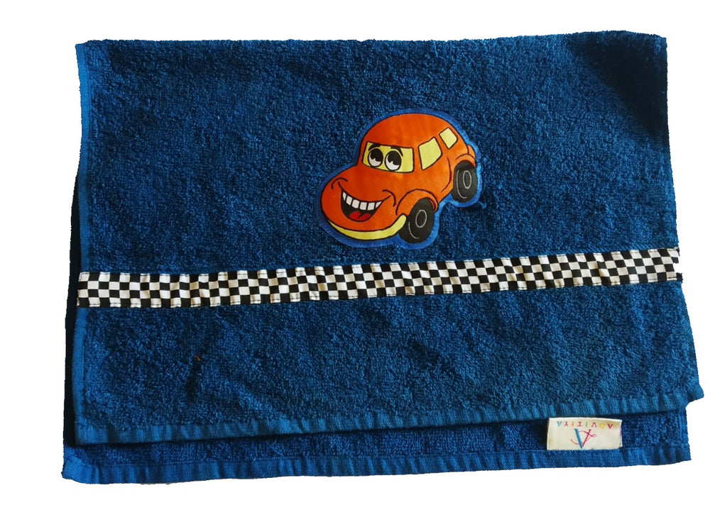 Crazy car - Hand Towel