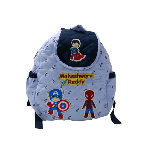 Avengers quilted school bag
