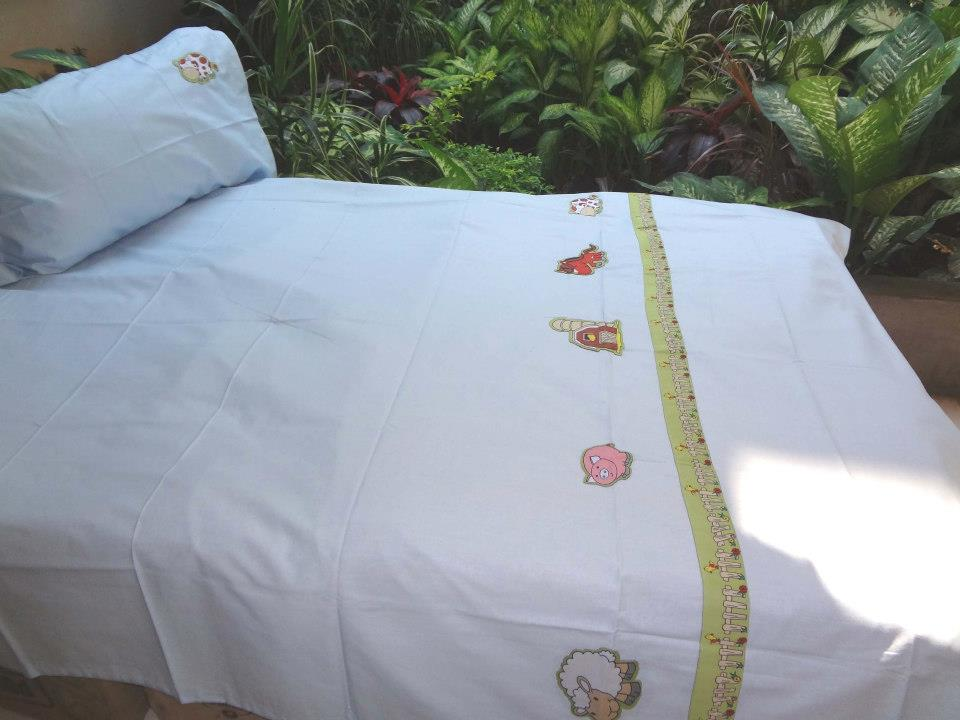 Farmland friends- Double Bed Sheet