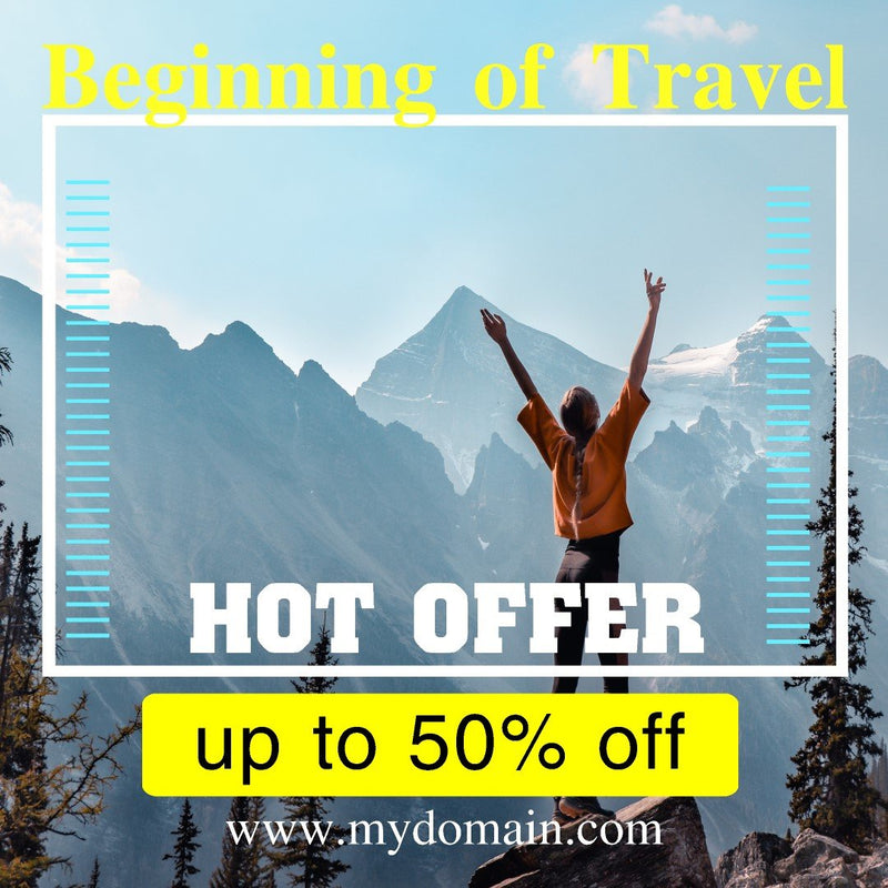 Blufftitler Pack - Social Media Promo TRAVEL - Pack 01