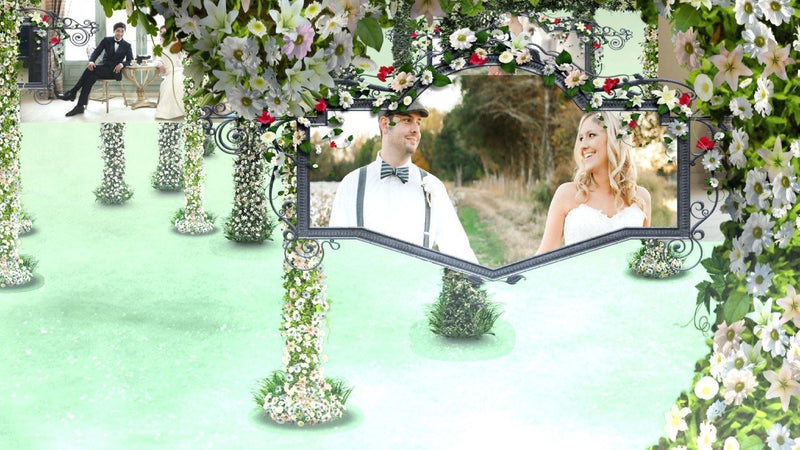 Blufftitler Template  Wedding Style 78