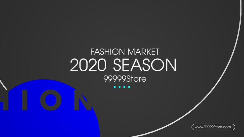 Blufftitler Fashion Market Promo
