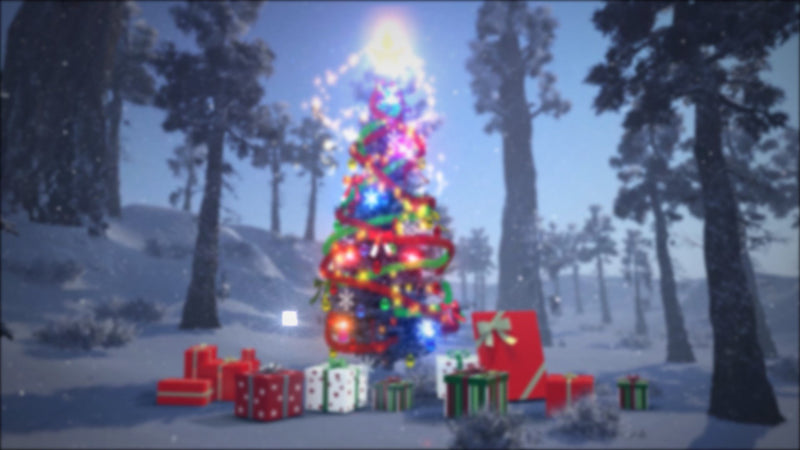 Virtual Studio Sets Blufftitler Merry Christmas 01 Blufftitler 99999Store