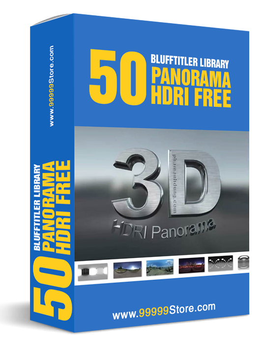 Blufftitler Pack - 50 HDRI Panorama