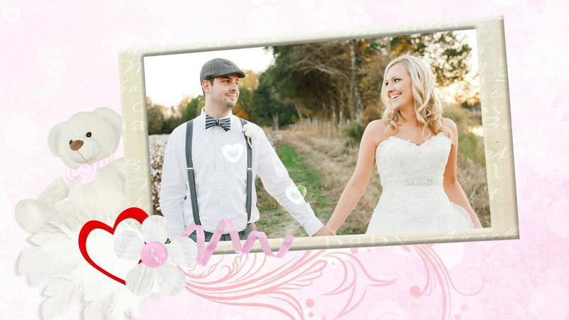 Blufftitler Template  Wedding Style 51