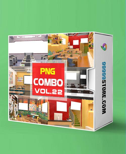Virtual Studio Sets PNG - COMBO STUDY 4K - VOL 22 PNG-Fox 99999Store