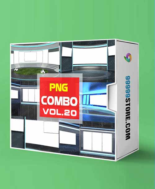 Virtual Studio Sets PNG - COMBO TALK 4K - VOL 20 PNG-Fox 99999Store