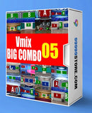 Virtual Studio Sets VMIX - SUPER COMBO 4K - VOL.05 vMix-Fox 99999Store