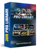 Blufftitler Pack: 3DR Pro Library