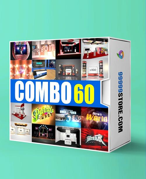 Blufftitler BLUFFTITLER COMBO 60: Intro 15 Blufftitler 99999Store