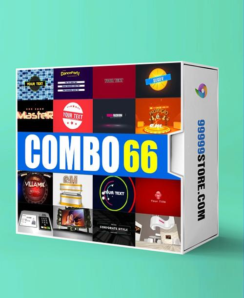 Blufftitler BLUFFTITLER COMBO 66: Intro 21 Blufftitler 99999Store