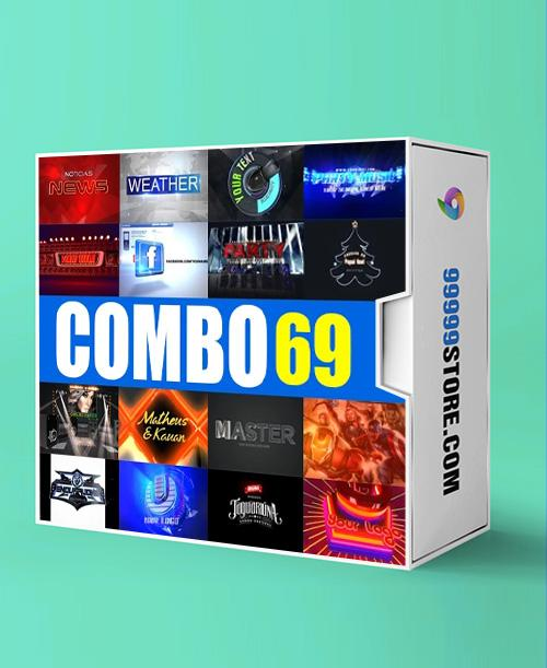 Blufftitler BLUFFTITLER COMBO 69: Intro 24 Blufftitler 99999Store