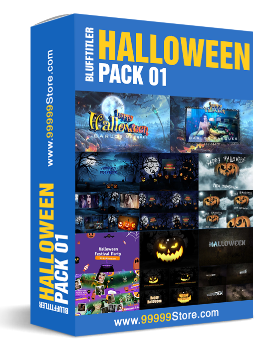 Blufftitler Blufftitler Pack - Halloween Blufftitler 99999Store