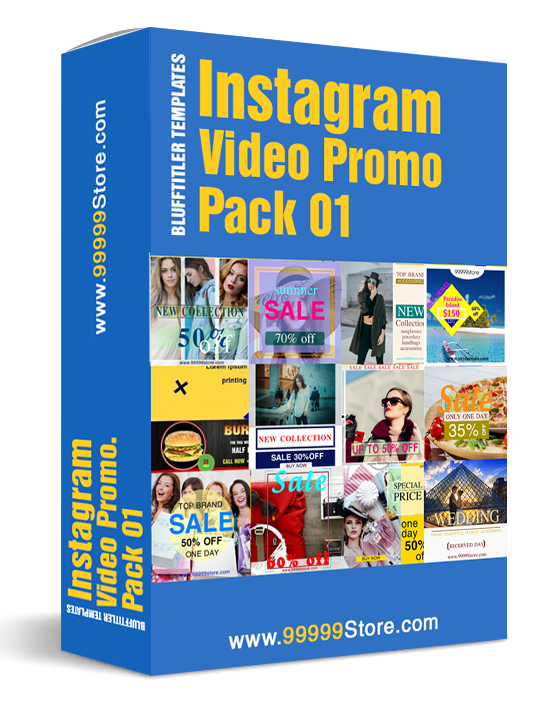 Blufftitler - Instagram PROMO PACK 01