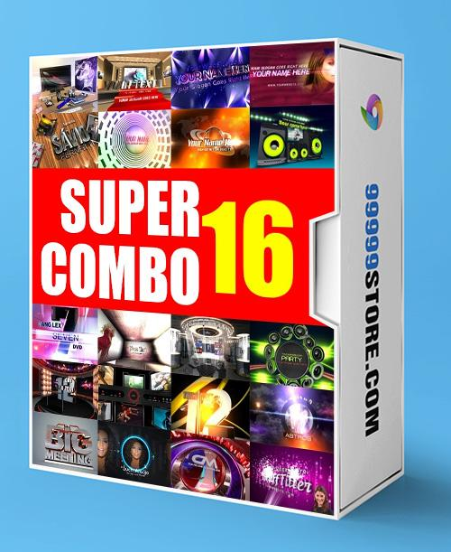 Blufftitler BLUFFTITLER SUPER COMBO 16: Intro Blufftitler 99999Store