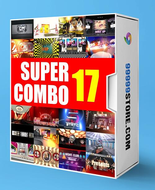 Blufftitler BLUFFTITLER SUPER COMBO 17: Intro Blufftitler 99999Store