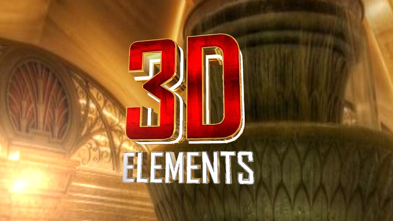 Blufftitler CM335 - Bt 3D Elements Blufftitler 99999Store