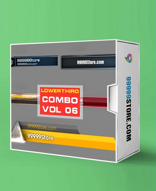 Lowerthirds Lowerthird - Combo Vol.6 vMix Lowerthirds 99999Store