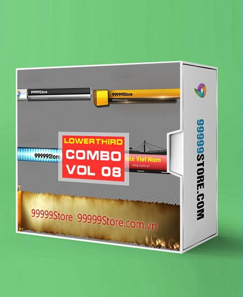 Lowerthirds Lowerthird - Combo Vol.8 vMix Lowerthirds 99999Store