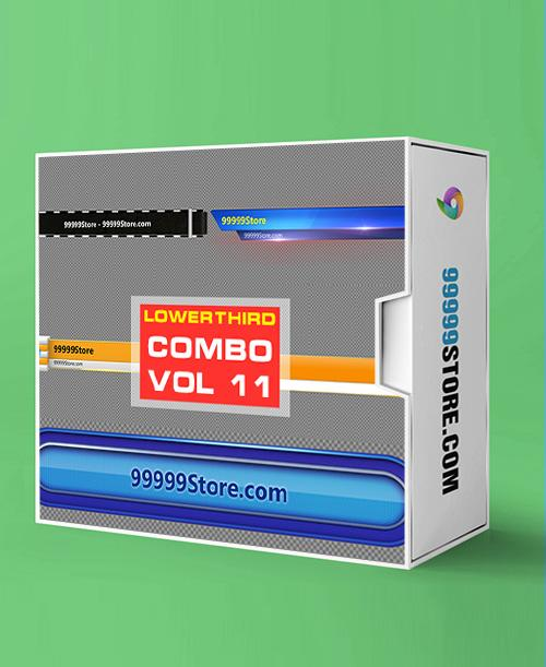 Lowerthirds Lowerthird - Combo Vol.11 vMix Lowerthirds 99999Store