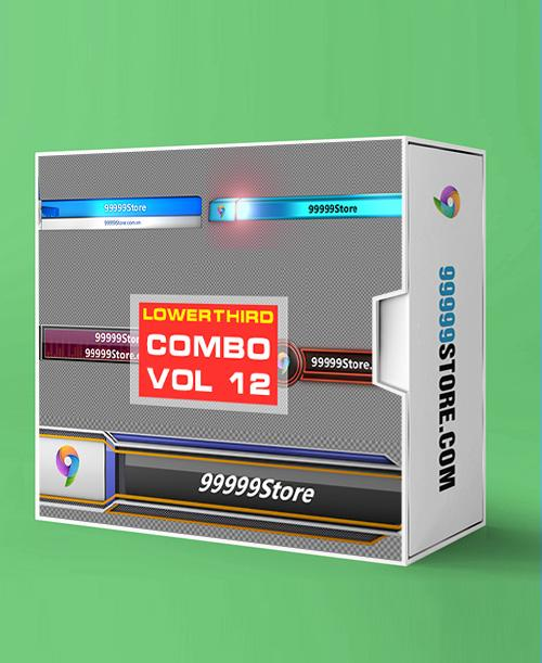 Lowerthirds Lowerthird - Combo Vol.12 vMix Lowerthirds 99999Store