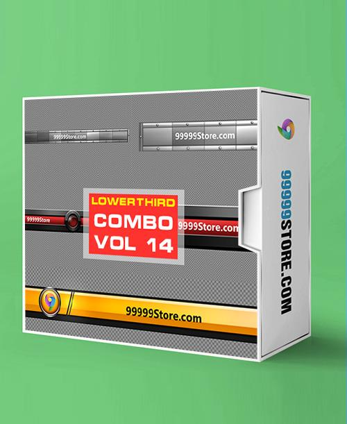 Lowerthirds Lowerthird - Combo Vol.14 vMix Lowerthirds 99999Store