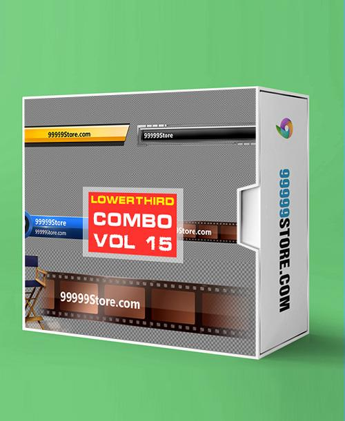 Lowerthirds Lowerthird - Combo Vol.15 vMix Lowerthirds 99999Store