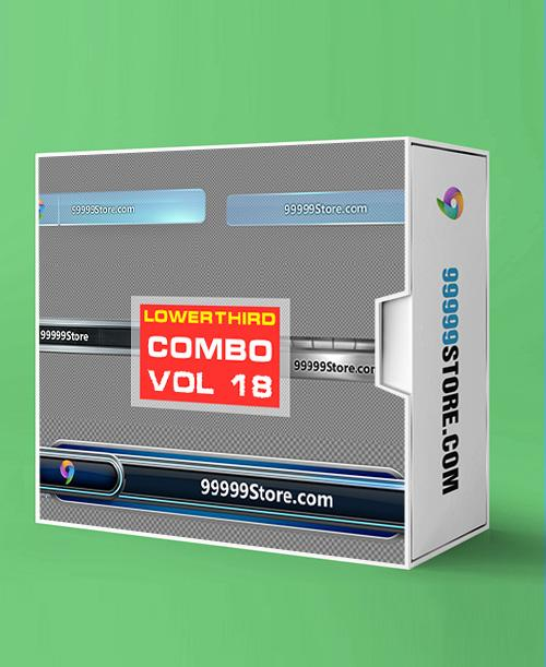 Lowerthirds Lowerthird - Combo Vol.18 vMix Lowerthirds 99999Store