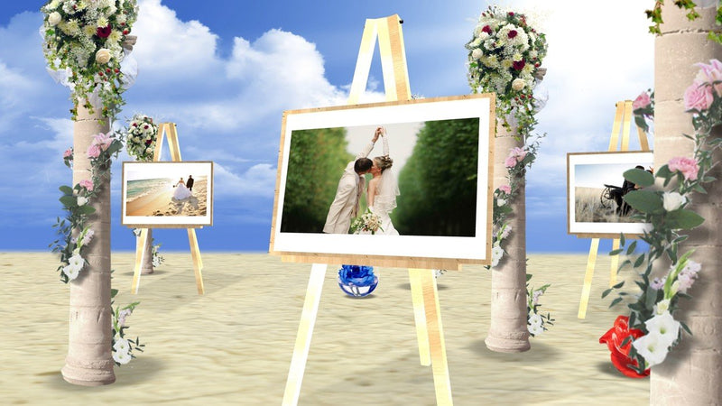 Blufftitler Template  Wedding Style 42
