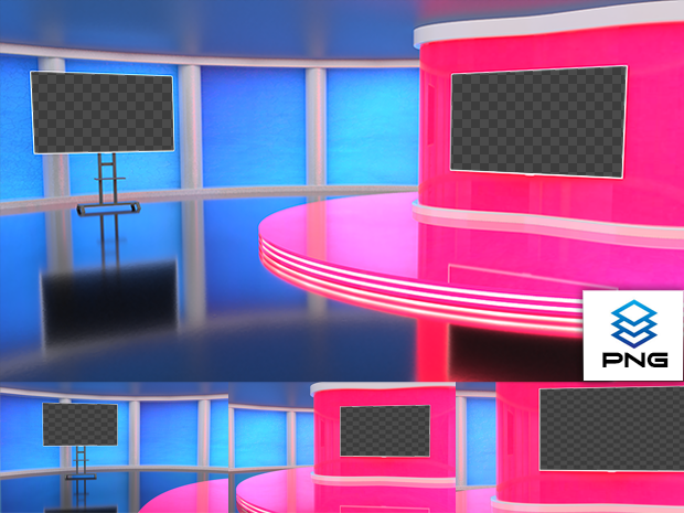 Virtual Studio Sets PNG - 4K Talk 18 PNG-Fox 99999Store