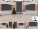 Virtual Studio Sets PNG - 4K Christmas 08 PNG-Fox 99999Store