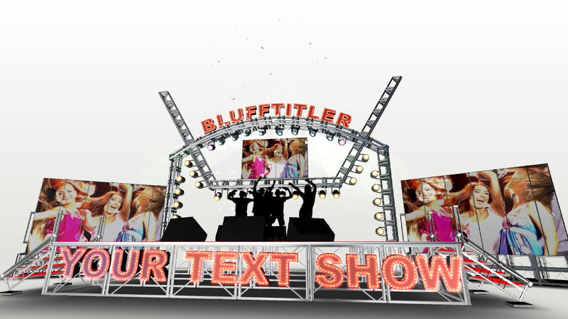 Blufftitler BLUFFTITLER COMBO 31 - MUSIC Blufftitler 99999Store