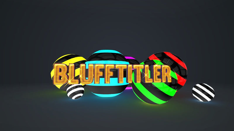 Blufftitler BLUFFTITLER COMBO 53: Intro 08 Blufftitler 99999Store