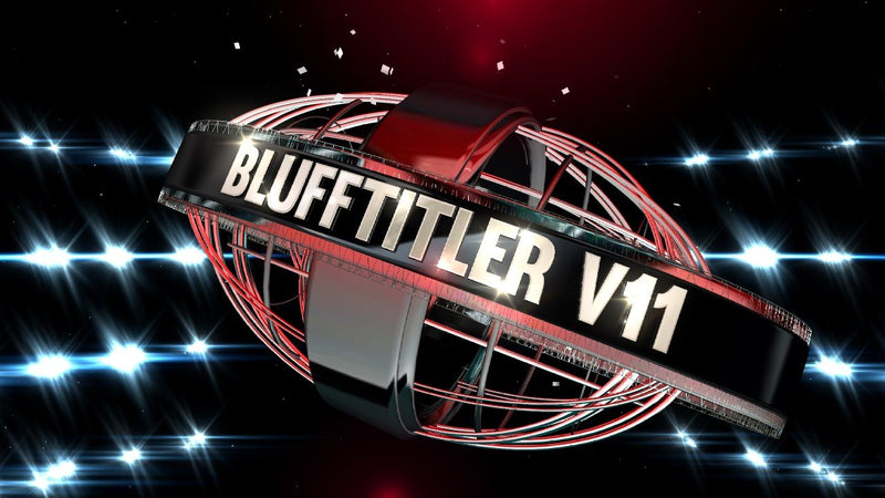 Blufftitler BLUFFTITLER COMBO 50: Intro 05 Blufftitler 99999Store