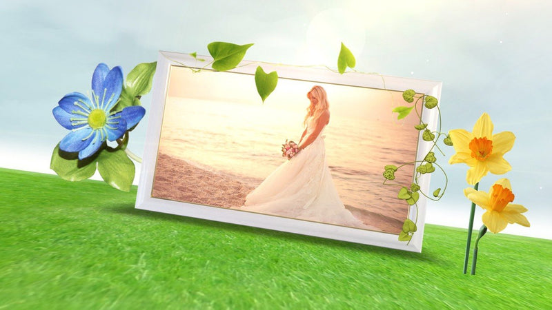 Blufftitler Template  Wedding Style 23