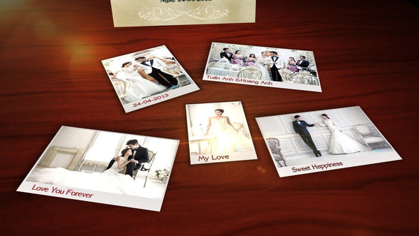 Blufftitler Template  Wedding Style 67