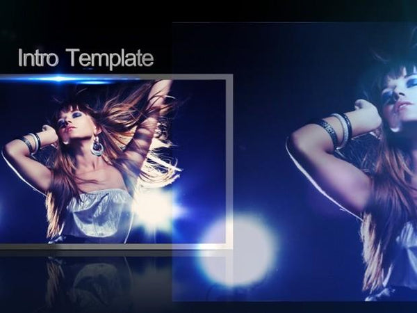 Blufftitler Template : Intro PRO - Style 09