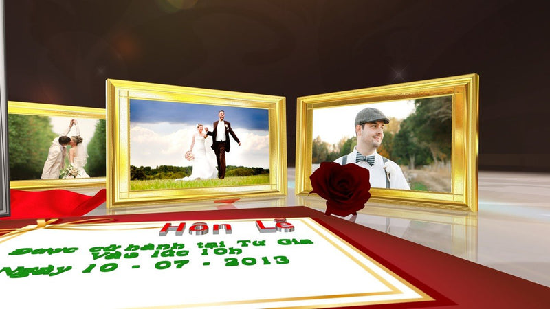Blufftitler Template  Wedding Style 43