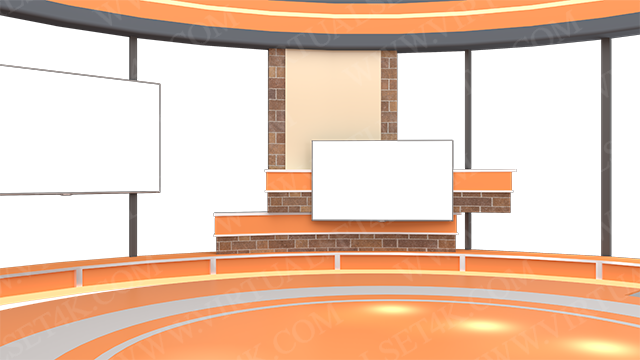 Virtual Studio Sets PNG - 4K Talk 26 PNG-Fox 99999Store
