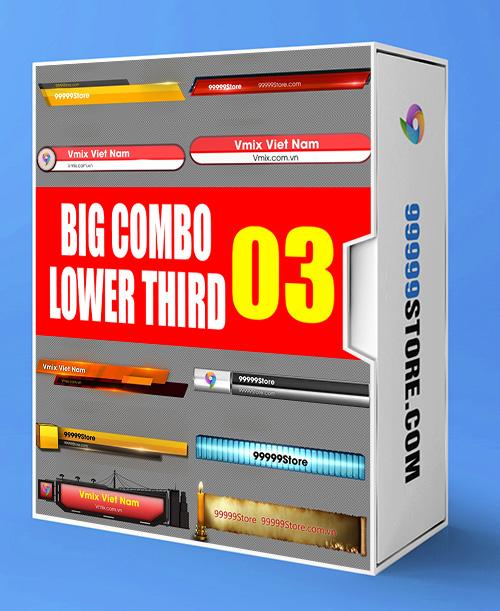 Lowerthirds Lowerthird - Super Combo Vol.3 vMix Lowerthirds 99999Store
