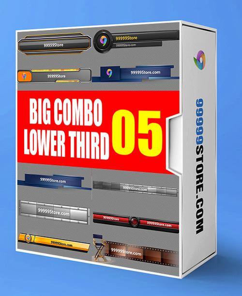 Lowerthirds Lowerthird - Super Combo Vol.5 vMix Lowerthirds 99999Store