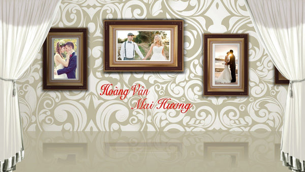 Blufftitler Template  Wedding Style 38