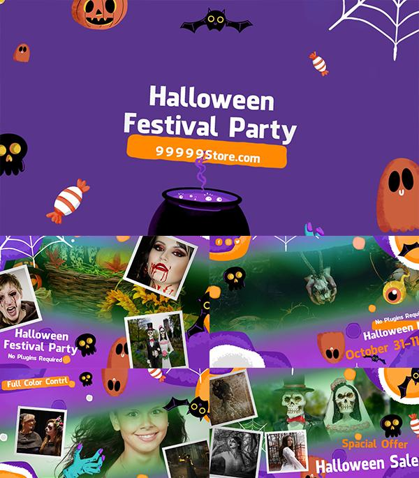 Blufftitler Blufftitler Halloween Festival Party Blufftitler 99999Store