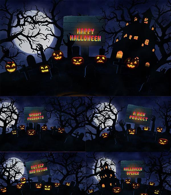 Blufftitler Blufftitler Halloween Opener Blufftitler 99999Store