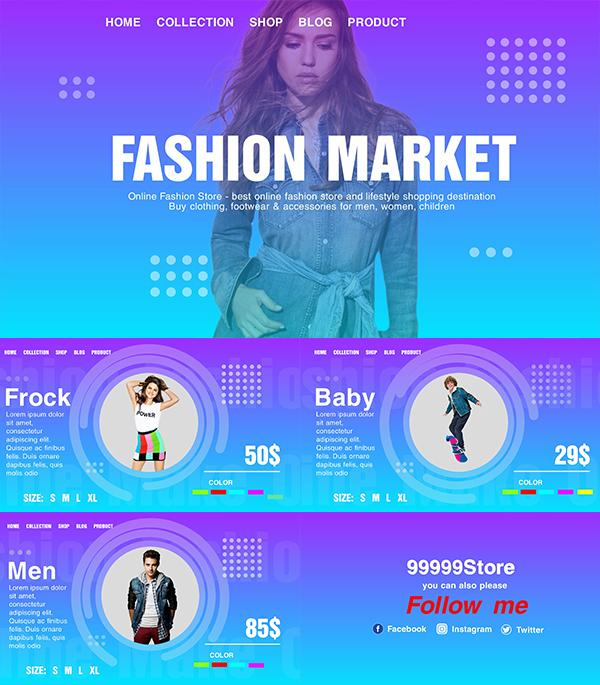 Blufftitler Neo Fashion Market