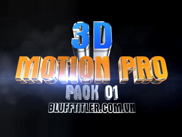 Blufftitler Template : Trailer Title Motion PRO 4K