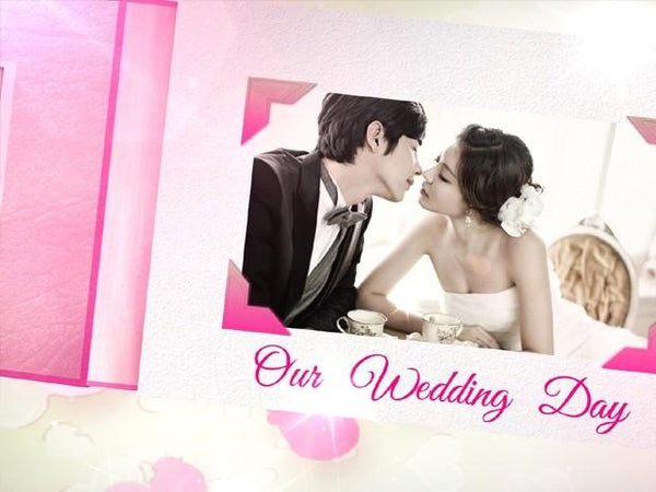 Blufftitler Blufftitler Template : Wedding Style 06 Blufftitler 99999Store